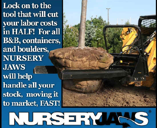 Save time and money by purchasing a set of Nursery Jaws today. Don't forget to check out our other labor saving devices!